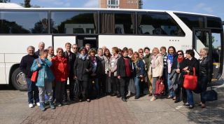 2016 Singakademie-Reise im Bus nach Cottbus - stressfrei und unterhaltsam